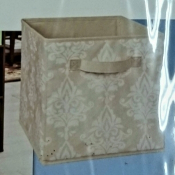 4 Pack ClosetMaid Fabric Designer Bins